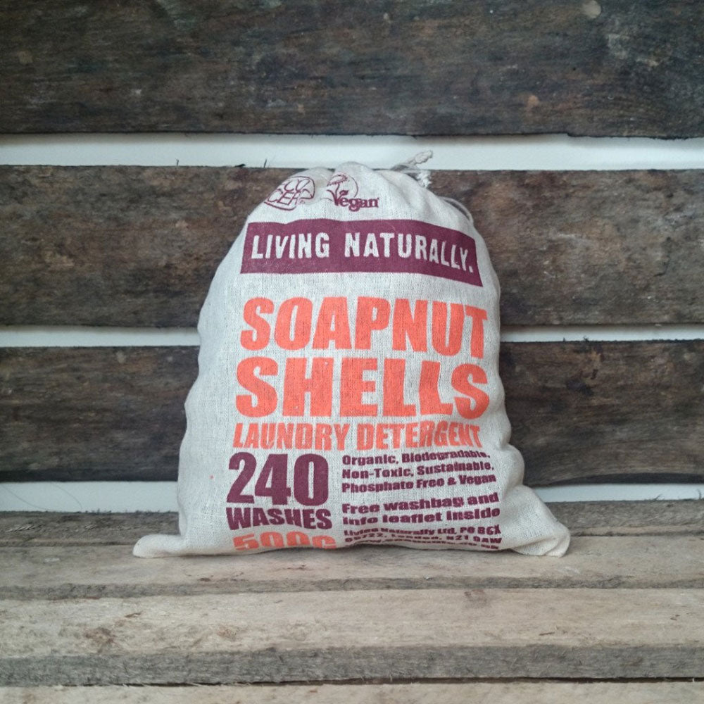 ORGANIC SOAPNUTS 500G WITH STORAGE BAG – 240 WASHES