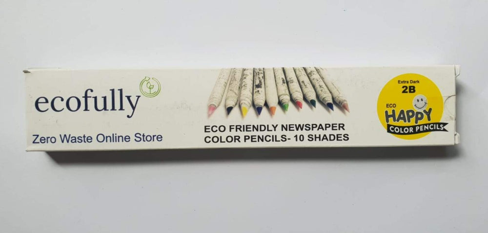 Recycled Newspaper Colour Pencils