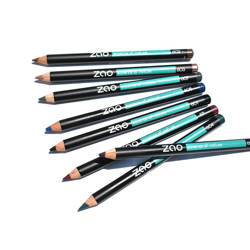 ZAO- PENCILS: EYES, EYEBROWS - BLACK