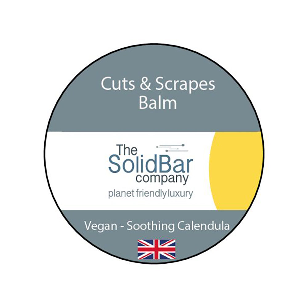 THE SOLID BAR COMPANY CUTS & SCRAPES BALM