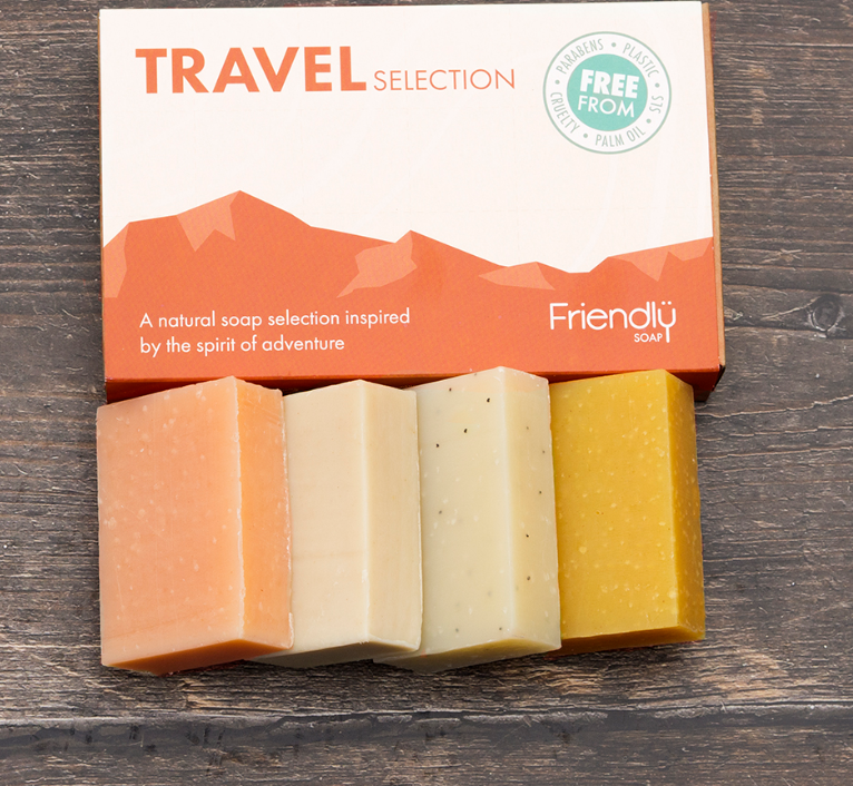 FRIENDLY SOAP TRAVEL SELECTION GIFT SET