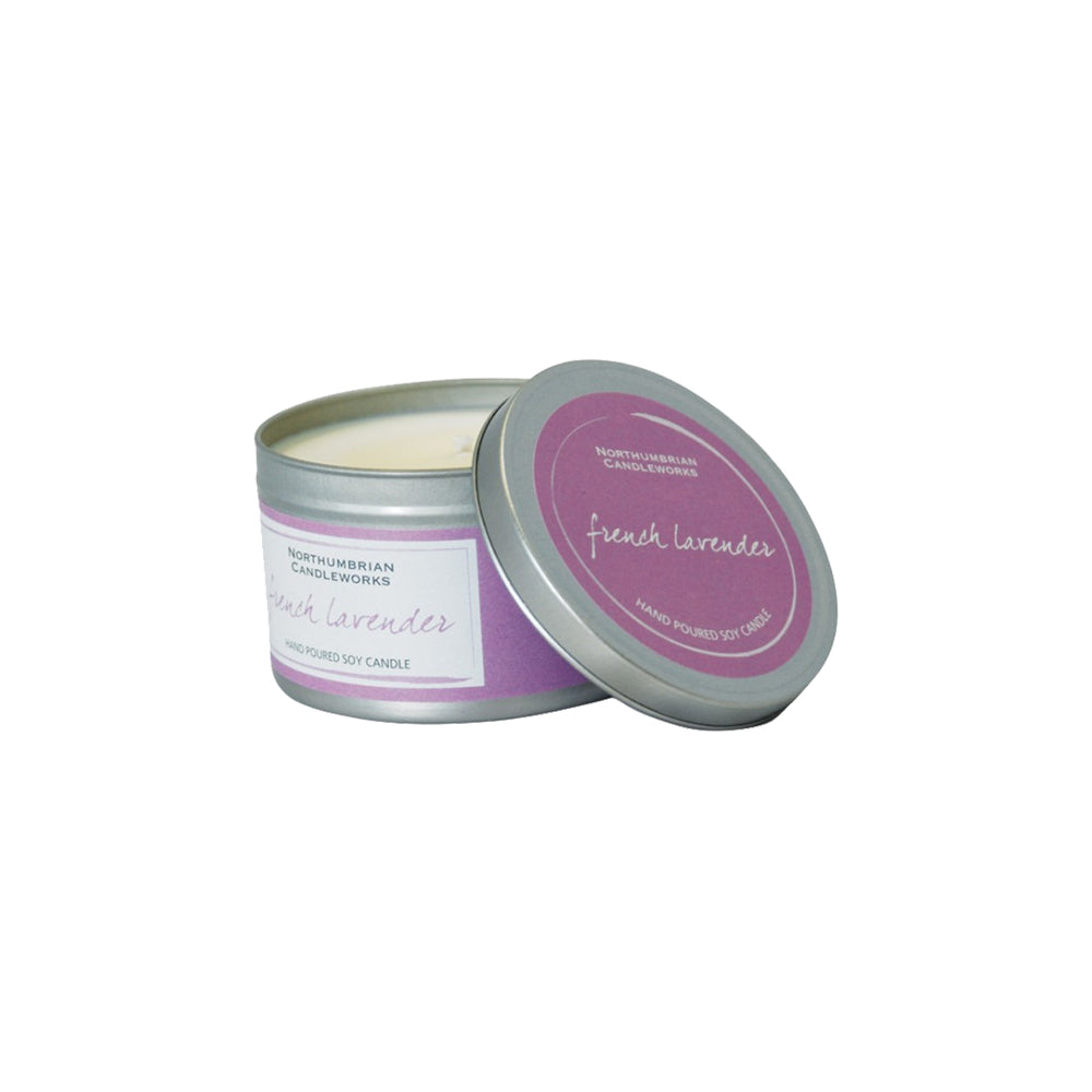 LARGE SOY CANDLE – WILD LAVENDER