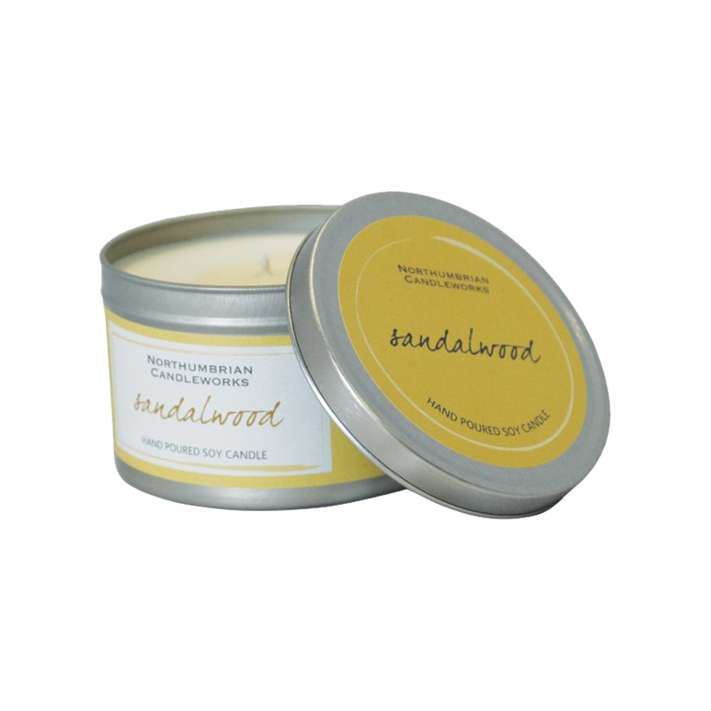 LARGE SOY CANDLE – SANDALWOOD