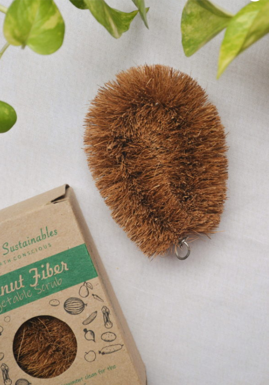 Coconut Fiber Vegetable Scrub
