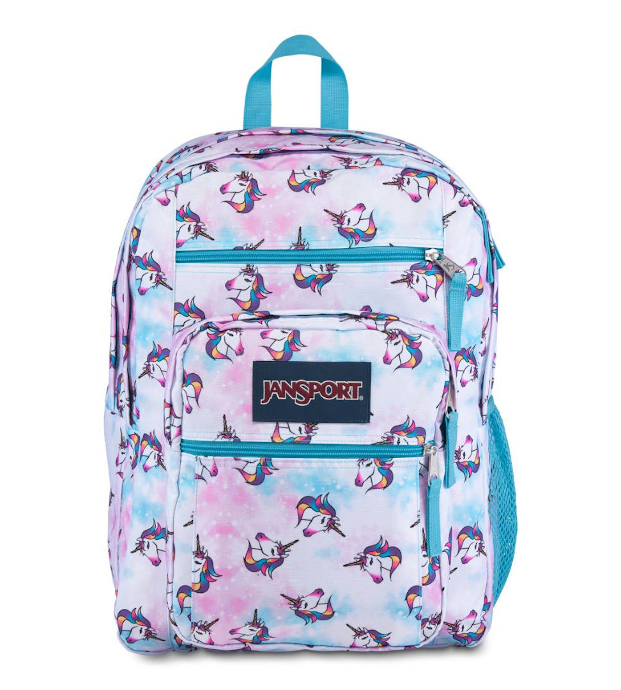 Jansport Big Student Unicorn Clouds