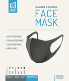A3 FACE MASK - REWASHABLE & REUSABLE