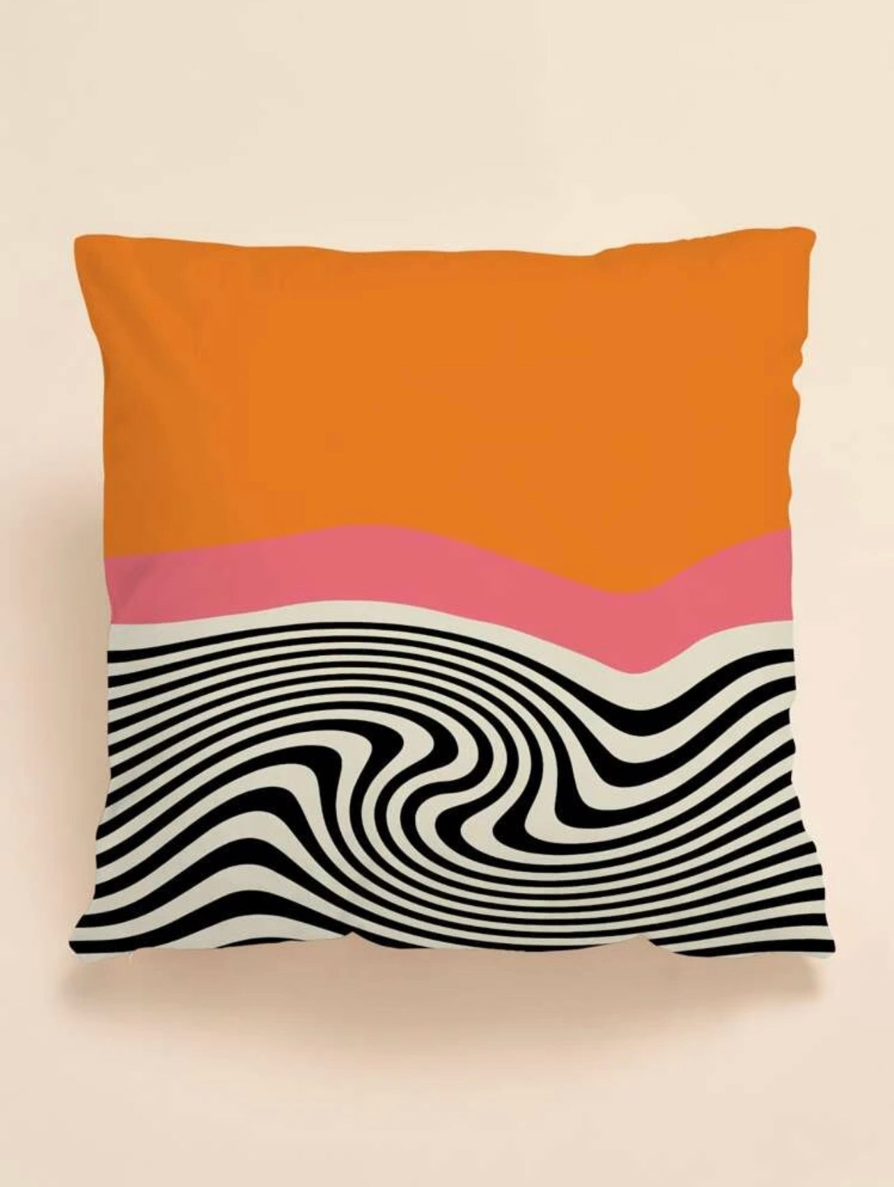 "Trippy Little Bugger 18"" Square Pillow"