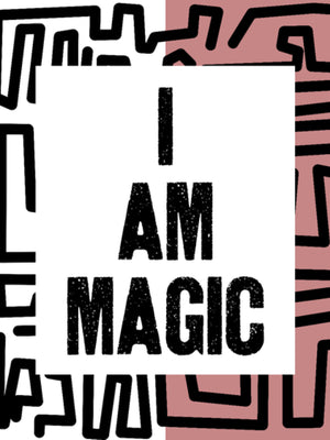 Open image in slideshow, I Am Magic Poster