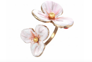 Double Flower Ring