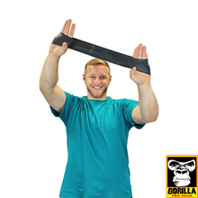 "Load image into Gallery viewer, 10"" BLACK EXERCISE BAND LOOP X-HEAVY"