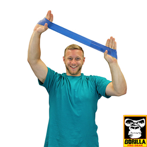 "10"" BLUE EXERCISE BAND LOOP HEAVY"