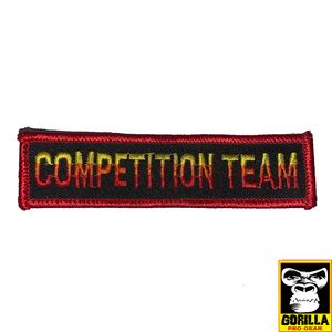 COMPETITION TEAM PATCH