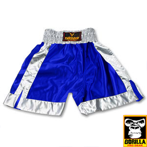 BLUE BOXING TRUNK