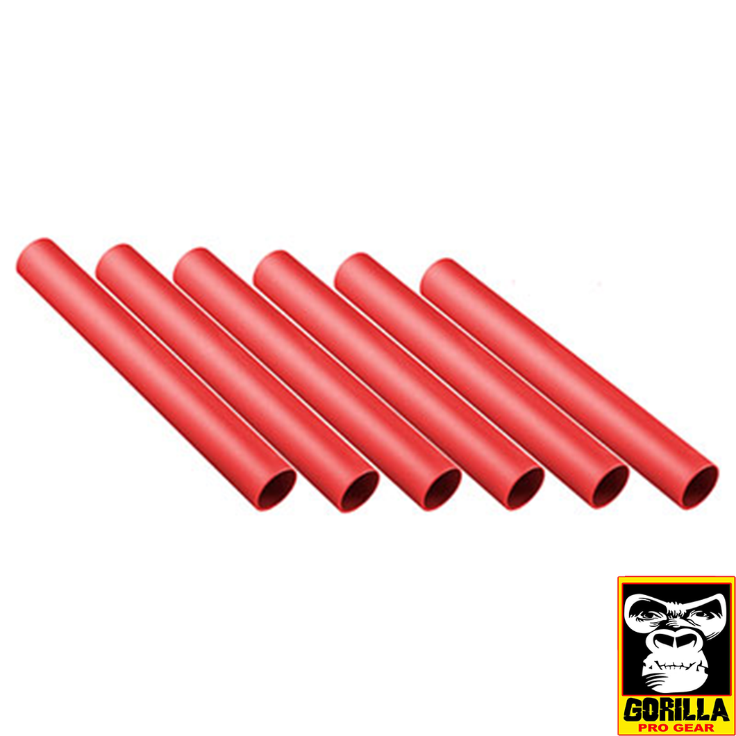 PLASTIC RELAY BATON RED