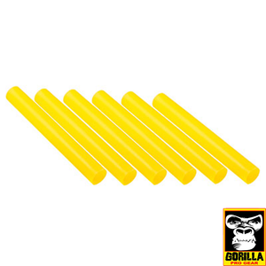 PLASTIC RELAY BATON YELLOW