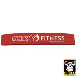 6 LB RESISTANCE FITNESS LOOP RED