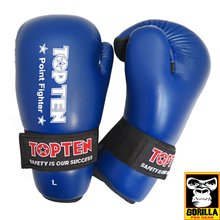 Load image into Gallery viewer, TOP TEN POINT FIGHTER OPEN HAND GLOVES