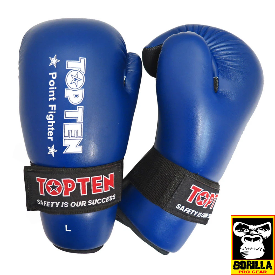 TOP TEN POINT FIGHTER OPEN HAND GLOVES