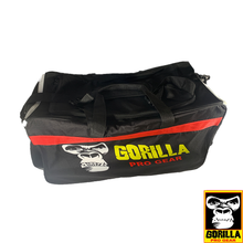 Load image into Gallery viewer, GORILLA PRO GEAR BLACK DELUXE DUFFLE BAG