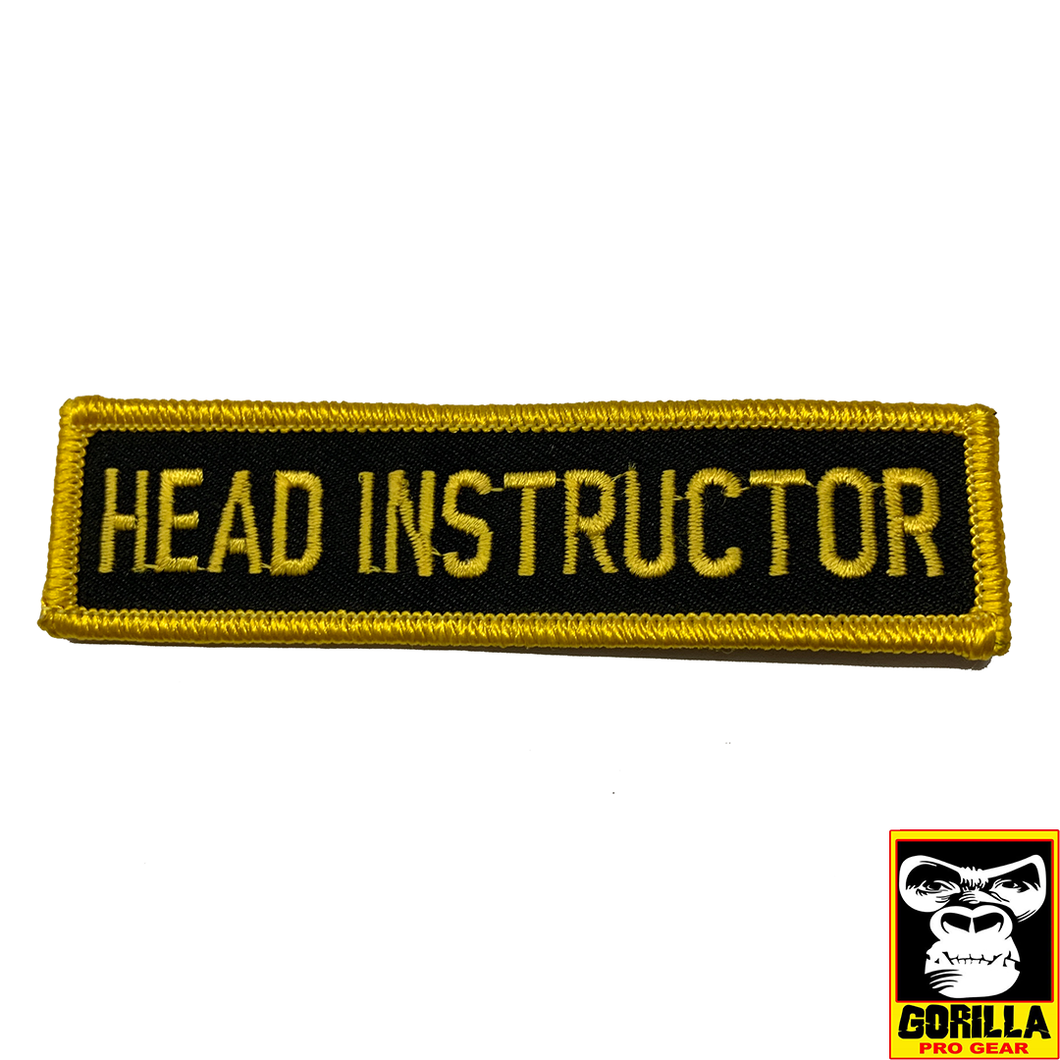 HEAD INSTRUCTOR