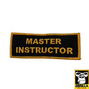 LARGE MASTER INSTRUCTOR PATCH