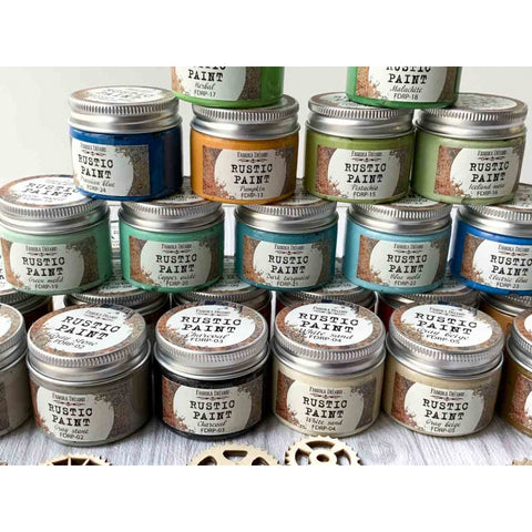 Fabrika Decoru Rustic and Shabby Velour paints