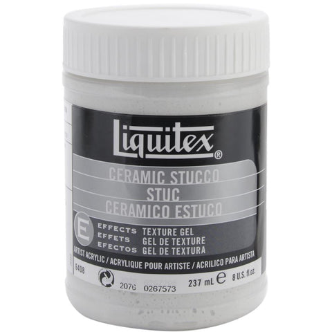 Liquitex Ceramic Stucco Acrylic Texture Gel 8oz