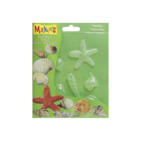 Makin's Clay Push Molds - Seashells
