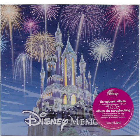 "SandyLion Disney Post Bound Album 12""X12"" Memories"