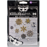 Finnabair Mechanicals Metal Embellishments Winter Trinkets