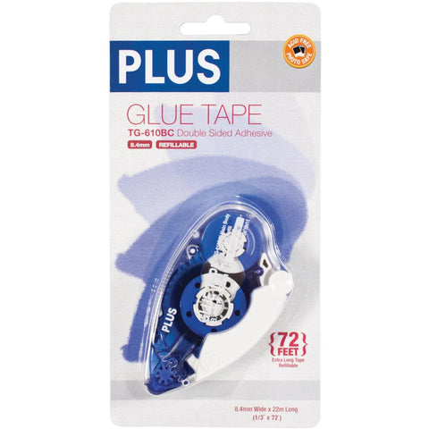 Plus High Capacity Glue Tape Dispenser