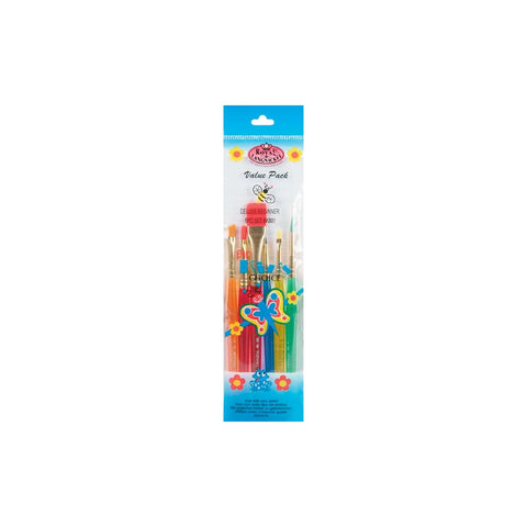 Big Kid's Choice Deluxe Beginner Brush Set 6/Pkg
