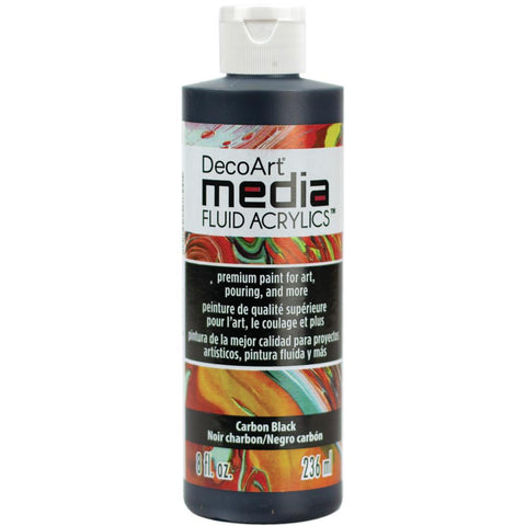 DecoArt Media Fluid Acrylics Paint 8oz - VARIOUS COLORS