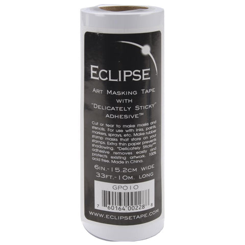 Eclipse Art Masking Tape Roll 15.2cmx10 Meters