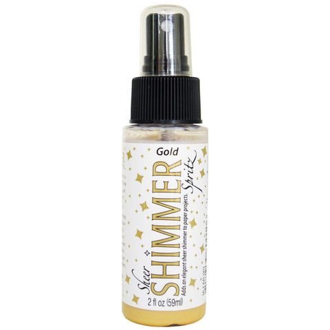 Sheer Shimmer Spritz Spray 2oz Gold