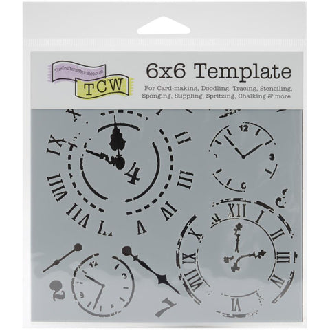 "Crafter's Workshop Template 6""X6"" Time Travel"