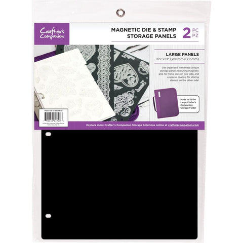 "Crafter's Companion 8.5""X11"" Magnetic Storage Panels 2/Pkg Large"