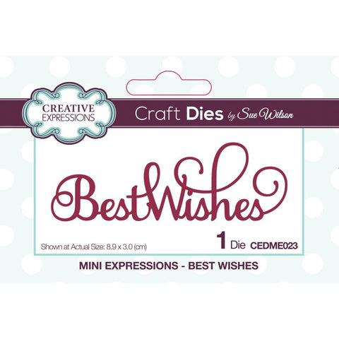 Mini Expressions-Best Wishes