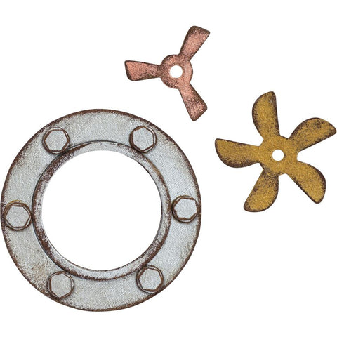 Sizzix Bigz Die By Tim Holtz Steampunk Parts
