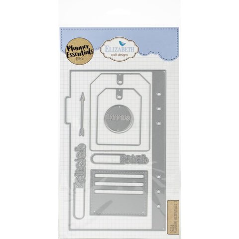 Elizabeth Craft Metal Die - Planner Essentials 2