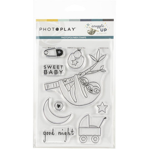 Snuggle up - PhotoPlay Photopolymer Stamp