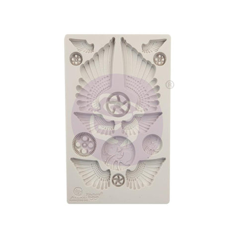 Finnabair Decor Moulds Cogs & Wings