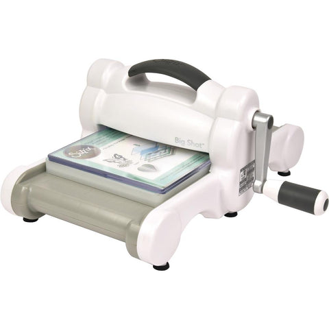 Sizzix Big Shot Machine - White W/Gray**