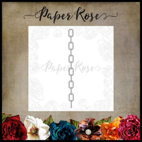 Paper Rose Dies - Chain border