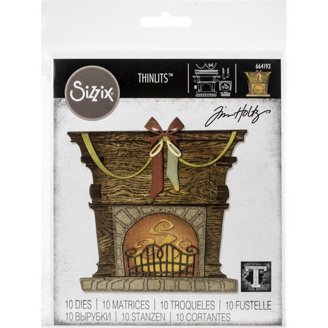 Sizzix Thinlits Dies By Tim Holtz Fireside