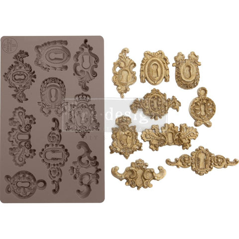 "Prima Marketing Re-Design Mould 5""X8""X8mm Grandeur Keyholes"