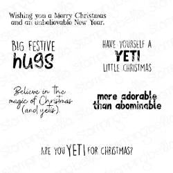 Stamping Bella Cling Stamps Yeti Sentiments