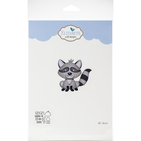 Elizabeth Craft Metal Die - raccoon