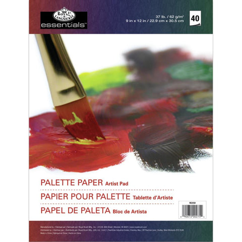 "essentials™ Palette Paper Pad 8.25""X11.5"" 40 Sheets"