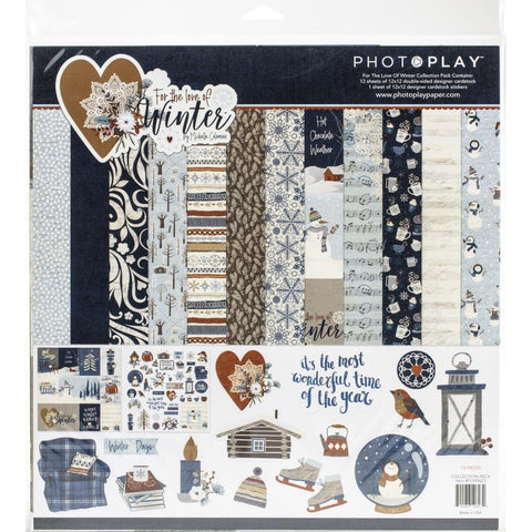 "PhotoPlay, FOR THE LOVE OF WINTER -  Collection Pack 12""X12"""